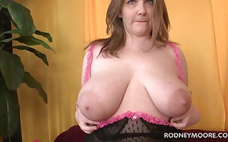 Chubby Non-professional Carrie Fucked BBW POV